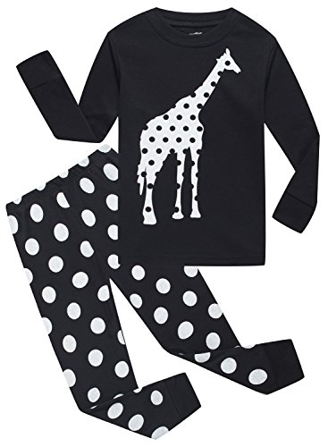 Family Feeling Winter Pjs Pyjamas Big Girls' Giraffe Sleepwears Pajamas Sets Child Clothes Size 9 Years