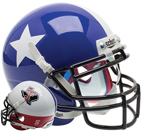 - NCAA Texas Tech Red Raiders Replica XP Football Helmet, Blue, One Size