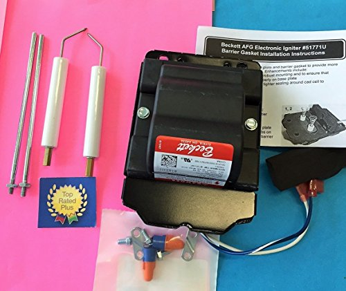BRAND NEW Beckett Burner A AF AFG NX 51771U Ignition Transformer Plus 5780 Electrode Kit