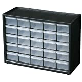 Flambeau 6576NA Parts Stations Drawer Cabinet Combinations with 25 Drawers