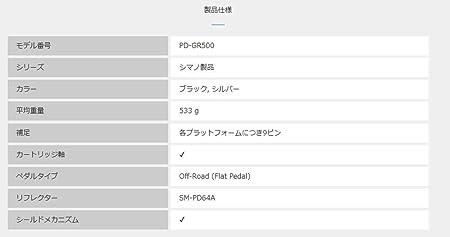 SHIMANO SPD PD-M 530 P/édale de VTT 2 Faces Noir