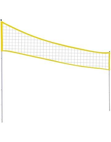 Paradesour Faltbare Volleyballnetz Netzgarnituren Höhenverstellbar für Outdoor Sportarten im Hinterhof Park Strand und Anderen Außenanlagen
