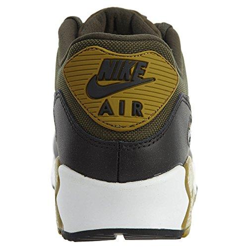 Nike Herren Air Max 90 Essential Laufschuh Cargo Khaki / Cool Grau-Schwarz