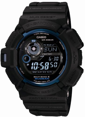 Casio G-SHOCK 30th Anniversary Initial Blue MUDMAN MULTI BAND 6 GW9330B-1