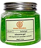 Organic Khadi Natural Aloevera Gel (Green) (200 gm)