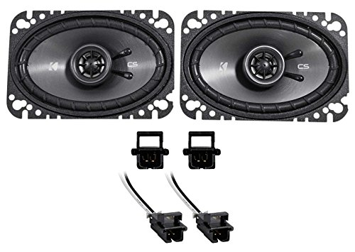 SS Kicker Front Factory Speaker Replacement for 1994-1996 Chevrolet Chevy Impala