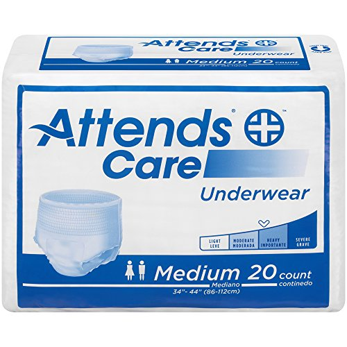 Attends APV20 Protective Underwear, Regular Absorbency, 34