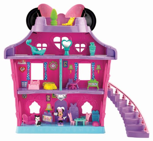 Fisher-Price Minnie Mouse - Minnie's Bow Sweet Home (Tree House Fisher Price compare prices)