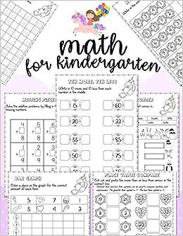 Math for kindergarten: Unicorn Math Activity Book For ...