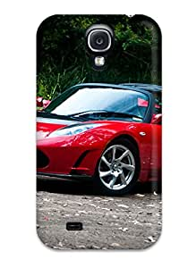 1851079K54364415 Quality Case Cover With Tesla Roadster 7 Nice Appearance Compatible With Galaxy S4