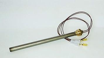 Resistencia de encendido Estufa de pellets diámetro 9,9 mm larga 140 mm tornillo