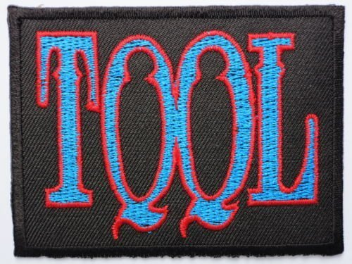 """TOOL Blue Logo Iron On Sew On Embroidered Rock Band Patch 3.1""""/8cm x 2.4""""/6cm BY MNC SHOP"""