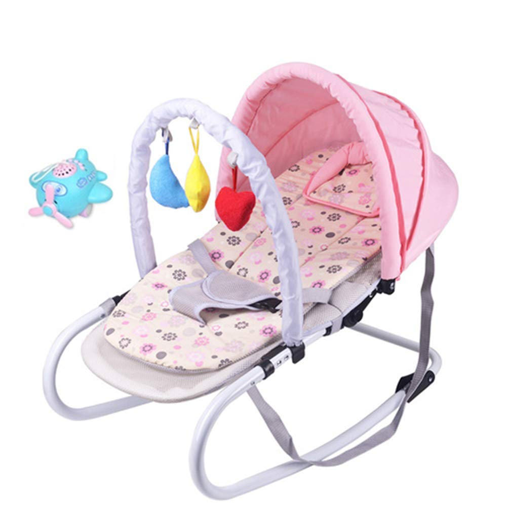 Y-BBouncer 6 in 1 Baby Rocking Chair Cradle Baby Soothing Chair Rocking Chair Rocking Chair Sleeping Artifact,C by Y-BBouncer