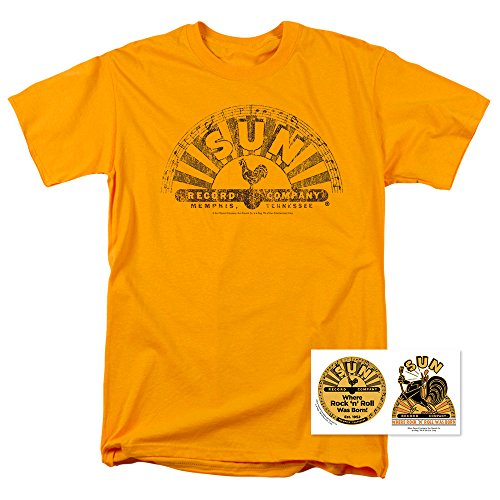 Sun Records Company T Shirt & Exclusive Stickers (Large)