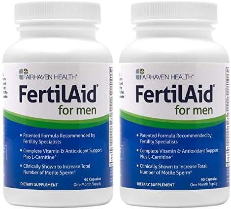 FertilAid for Men: Male Fertility Supplement - 2 Month Supply
