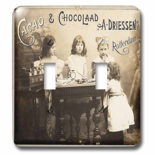 3dRose lsp_62535_2 Picture Of Old 1900 Postcard From Holland Double Toggle - Old 1900 Photo
