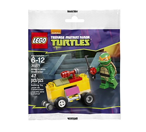 LEGO Teenage Mutant Ninja Turtles: Mikey's Mini Shellraiser Tmnt Set 30271 (Bagged)