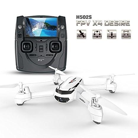 Goolsky Hubsan H502S Drone con Cámara 720P HD 5.8G FPV RC ...