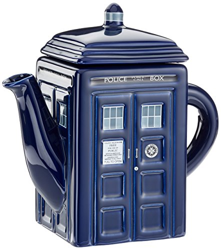 - Doctor Who Tardis Ceramic Teapot