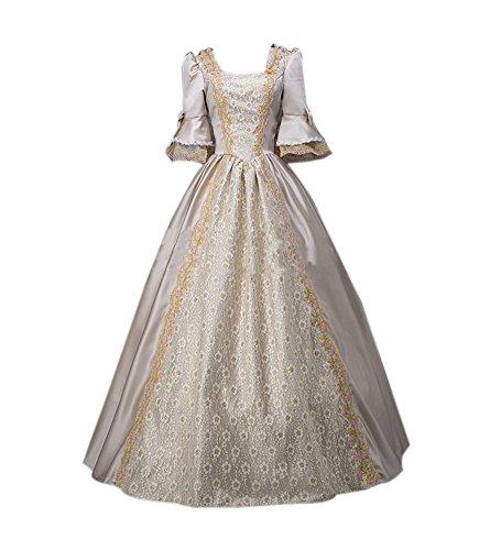 Lemail Womens Modern Victorian Dress 18th Century Masquerade