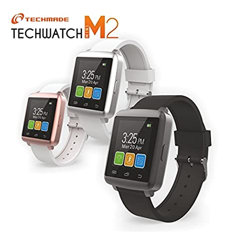 Techmade Smartwatch M2 Mini con pantalla 1.44 Color blanco/Rosa ...