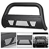 06 tundra grill guard - VXMOTOR 1999 / 2000-2006 Toyota Tundra ; 2001-2007 Toyota Sequoia Matte Black Heavyduty Studded Mesh Bull Bar Brush Push Front Bumper Grill Grille Guard With Skid Plate