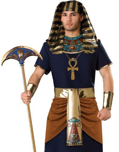 InCharacter Adult Mens Pharaoh Egyptian Costume (Mens King Tut Costume)