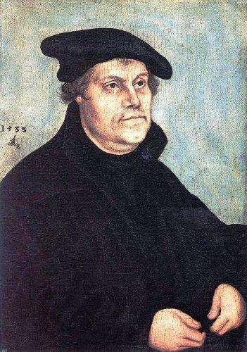 (The Elder Lucas Cranach Portrait of Martin Luther - 18.1