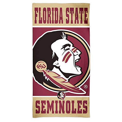WinCraft FSU Florida State University Beach Towel 30 x 60 Spectra Beach Towel