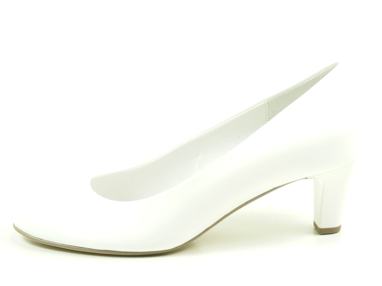 Gabor Damen Fashion Pumps, Grau Grau Pumps, Weiß 25d133