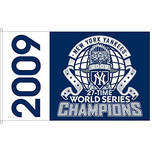 New York Yankees 2009 World Series Champions 3x5 Flag