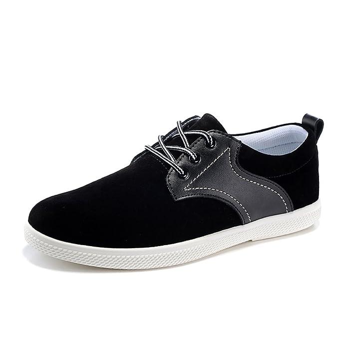 otoño hombres zapato/Moda británica hombres zapatos/ zapato respirable ante-B Longitud del pie=26.3CM(10.4Inch)  37 EU  28 EU  36 EU  Zapatillas Altas Unisex Adulto ake2KEILV