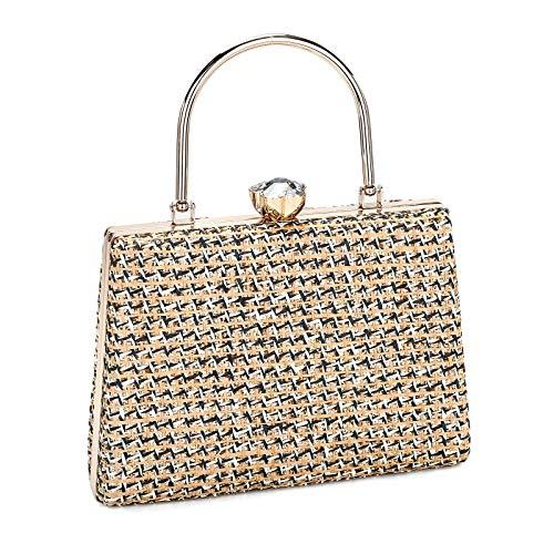 Women Clutch Evening Bag Shiny Hand...
