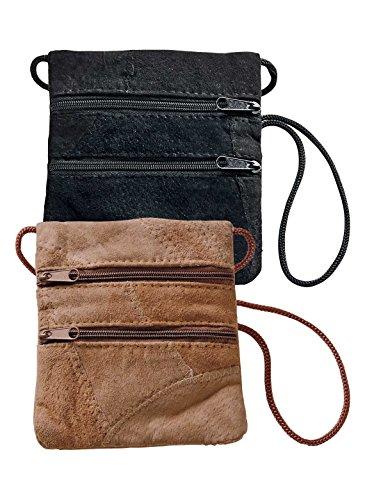 Suede Patchwork Bag (Genuine Suede Mini Bag)