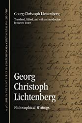 Georg Christoph Lichtenberg: Philosophical Writings (Suny Series in Contemporary Continental Philosophy)