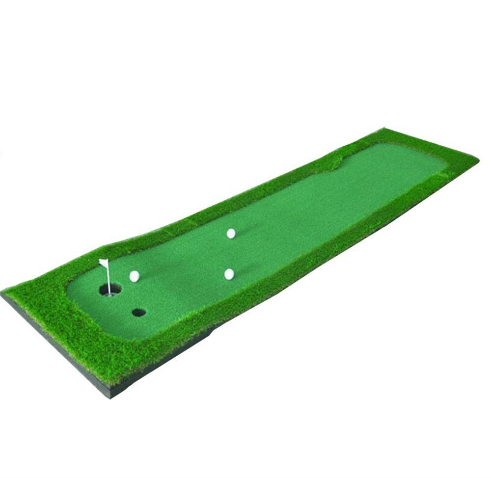 ZRXian-ゴルフ練習ボール ミニポータブルゴルフスイングマット/ゴルフトレーニングマット/ゴルフフェアウェイマット/ゴルフプラクティスマット/マルチサイズゴルフフェアウェイマット-75 * 300cm 裏庭ゴルフマット   B07JV864TH