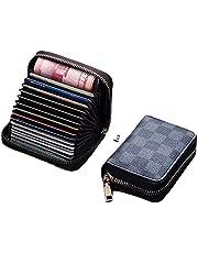 محفظة للكروت و البطاقات ذات سوسته لف
