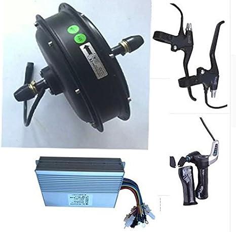 1500 W 48 V cubo de rueda delantera kit de motor eléctrico para ...