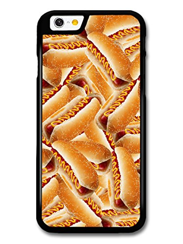 Cool Food Pattern Collage with Hot Dogs Funny Gross Grunge Goth case for iPhone 6 6S