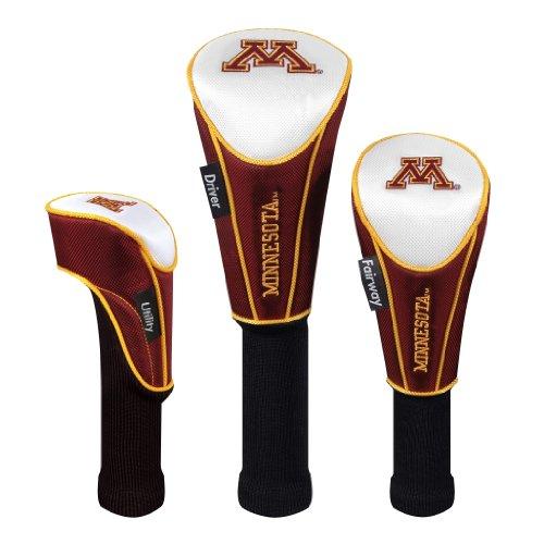 (Minnesota Golden Gophers Set of Three Headcovers)