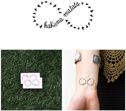 Tatuajes Temporales Tattify de Hakuna Matata – círculo de vida ...