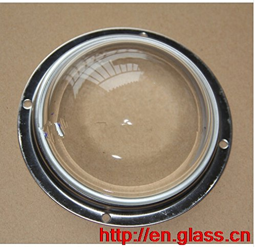 500 pieces D100mm 80 degree beam angle Glass lenses Beam Angle for Cree CXA3590 CXB3590 On led street High Bay Lamp