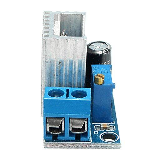 Ils 10 Pi/èces LM317 DC-DC 1.5A 1.2-37V Carte dalimentation /électrique R/églable DC Convertisseur abaisseur Buck Module R/églable R/égulateur de Tension Lin/éaire