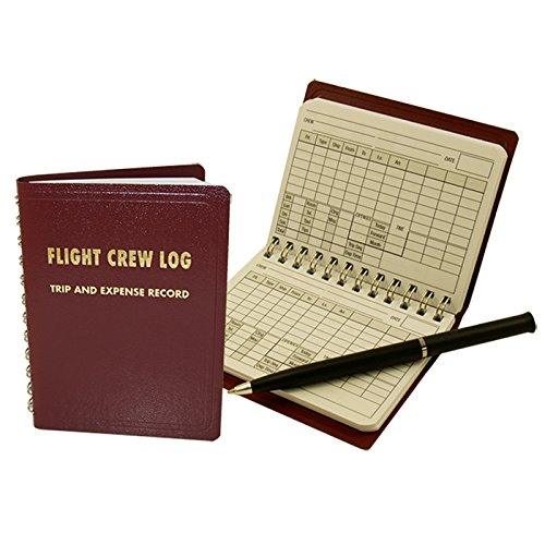 Flight Crew Expense Log Book (Little Red (Pilot Log Book)