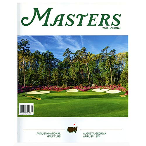 Augusta National 2019 Masters Golf Tournament Journal