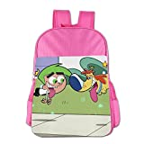 Fairly OddParents School Bag Pink