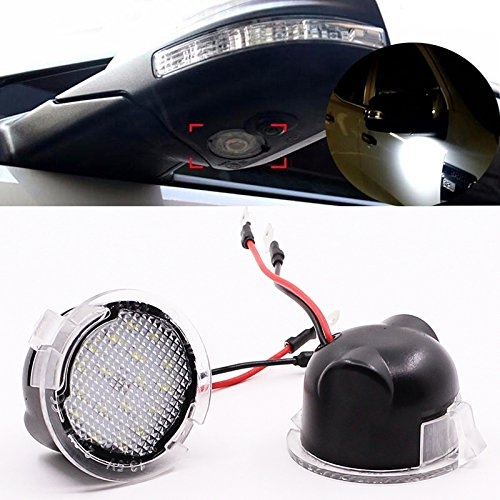 Side Mirror With Led Light