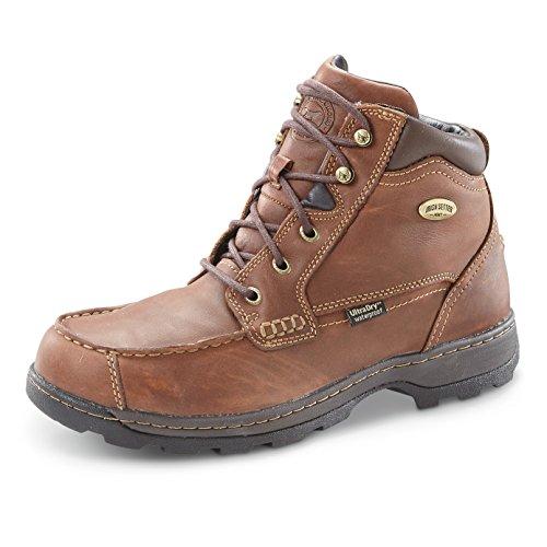 Irish Setter Men's 3875 Soft Paw Waterproof Chukka Casual Shoe,Brown,10 D US by Irish Setter