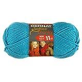 Bernat Softee Chunky Yarn, Ultra Blue, Single Ball