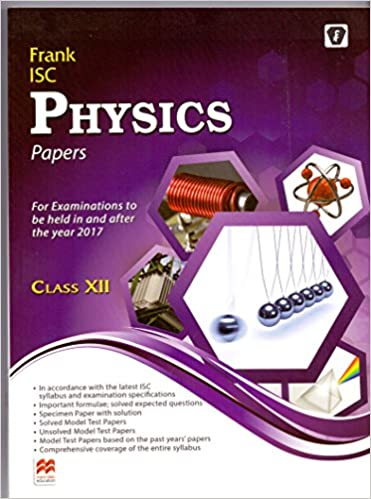 Amazonin Buy Frank Isc Physics Papers Class Xii Book Online At